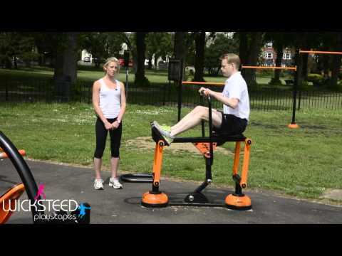 Rower - Outdoor Fitness Equipment