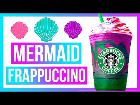 Starbucks Mermaid Frappuccino Diy