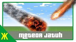 Minecraft Tutorial - Membuat Meteor Jatuh
