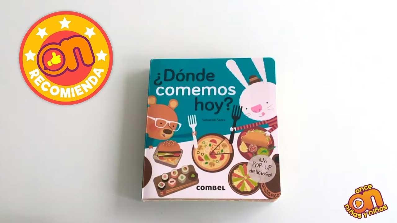 ON Recomienda el libro ¿Dónde comemos hoy?