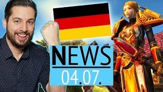 IHR habt's geschafft: Deutsche Server für WoW Classic! - News