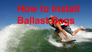 How to install Ballast Bags / Sacs - Into a Axis | Malibu Plug and Play System