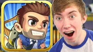 JETPACK JOYRIDE - Part 1 (iPhone Gameplay Video)