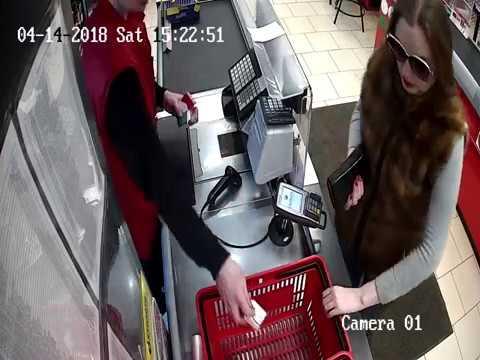 Полиция Великих Лук разыскивает мошенницу (ВИДЕО)