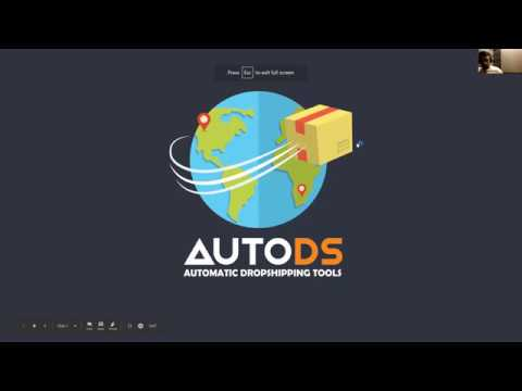 AutoDS dropshipping - 1000 products with one click RUSSIAN