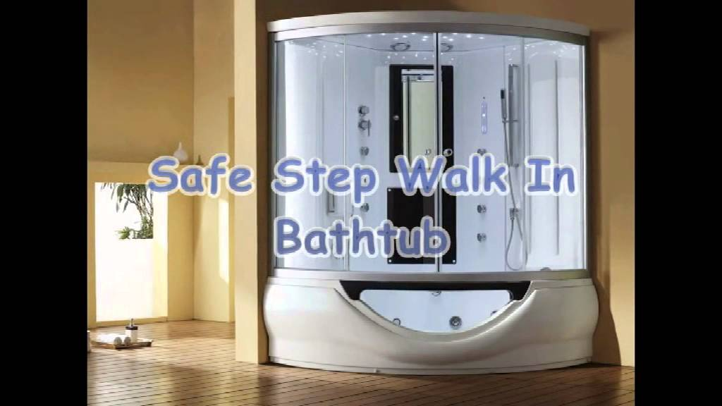 walk in bathtub.  Make The Best Walk In Tub Shower Combination FOYBS YouTube