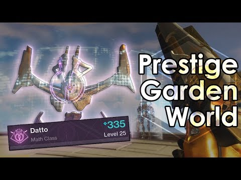 Destiny 2: Garden World Prestige Nightfall + Master Cartogra