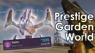 Destiny 2: Garden World Prestige Nightfall + Master Cartographer Emblem
