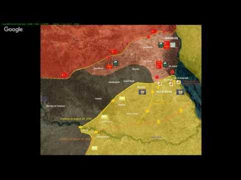 Kurdistán, Irak y Siria contra el Daesh: Turquía invade Siria para apoyar a ISIS y Al Qaeda, avan...