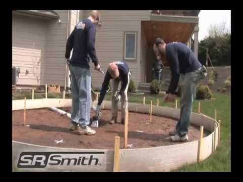 WetDek Backyard Splash Pad Installation Stand Alone