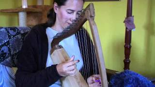 Medieval Harp Music with Cat