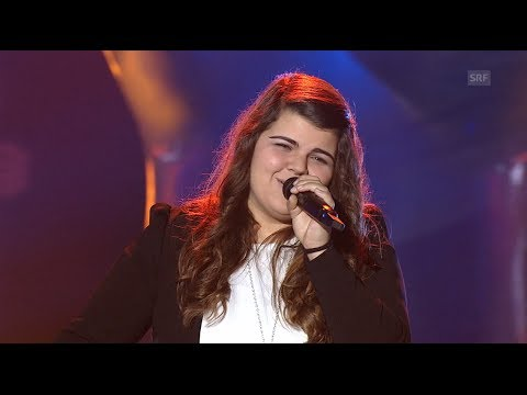 Tiziana Gulino - WINNER 2014 - Let Her Go - Blind Audition - The Voice of Switzerland 2014