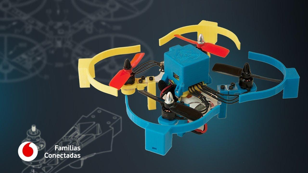 Drones impresos en 3D para que los niños se enamoren de la electrónica #FamiliasConectadas