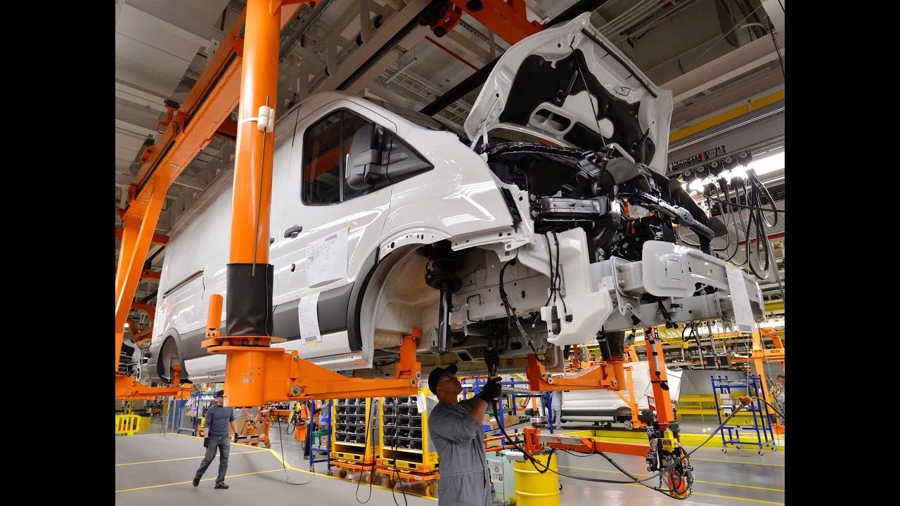 Claycomo Starts Production Of Ford S Transit Commercial