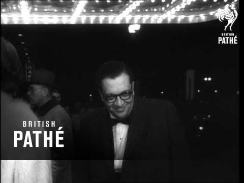 "Premier Of ""Ben Hur"" Takes Place In Washington (1960)"