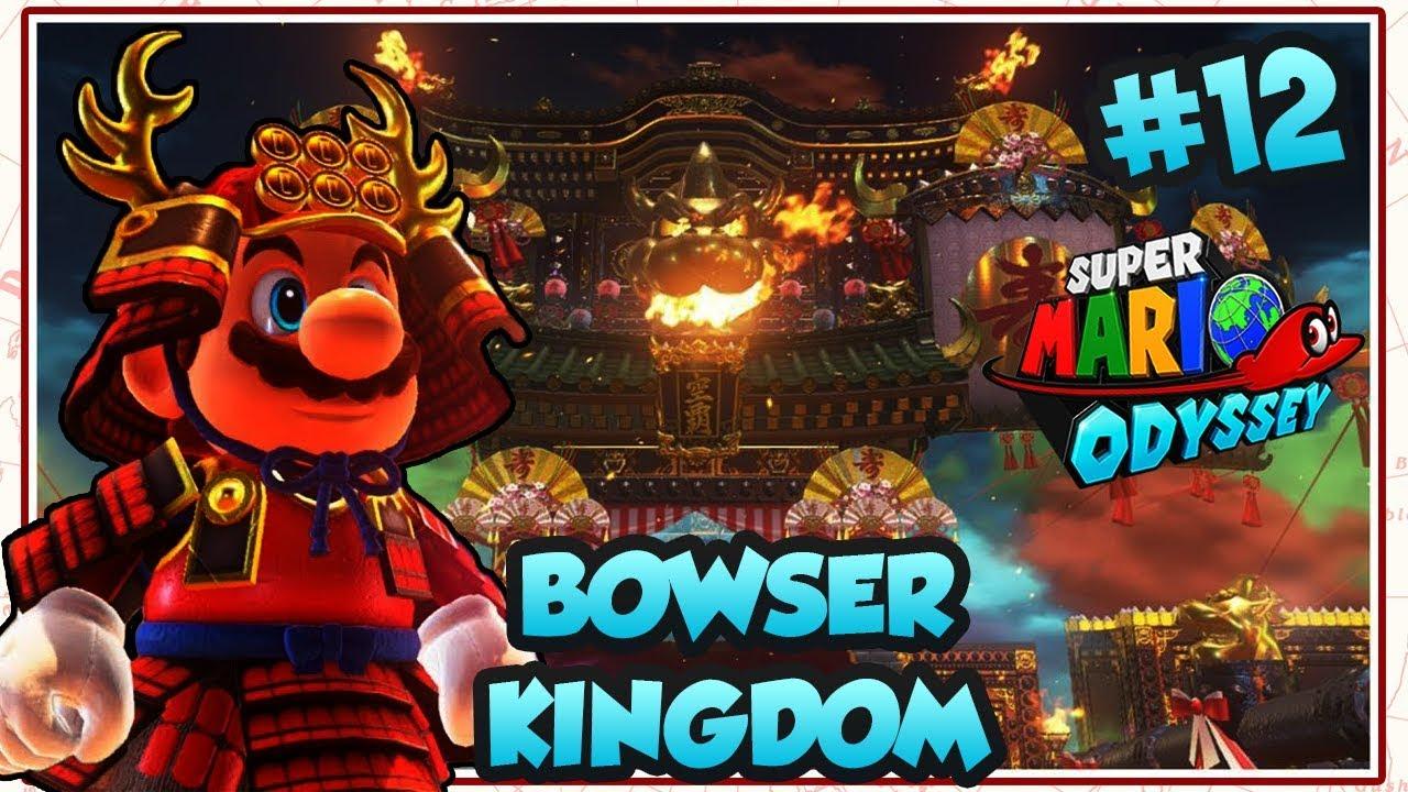 Abm Super Mario Odyssey Bowser Castle Kingdom Walkthrough 12