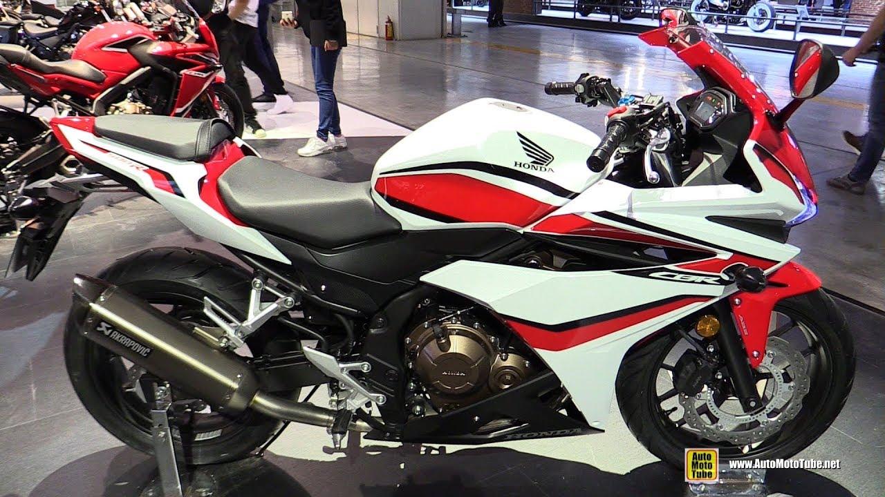 2018 honda cbr500r walkaround 2017 eicma milan motorcycle exhibition. Black Bedroom Furniture Sets. Home Design Ideas
