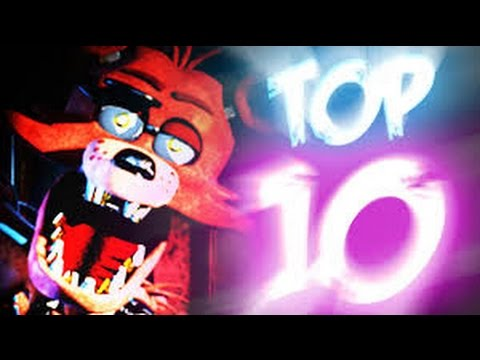 Top 10 facts about foxy five nights at freddy s youtube