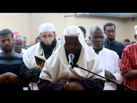 Qari Ukashe Al Kamani Leading Taraweeh Prayer At Masjid Rawdah