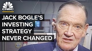 Vanguard Founder Jack Bogle's '90s Interview Shows His Investing Philosophy