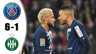 PSG vs Saint Etienne 6 1   All Goals & Extended Highlights 2020