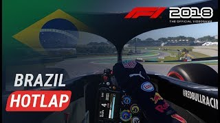 F1 2018 INTERLAGOS HOTLAP | GPblog Track Review Brazilië