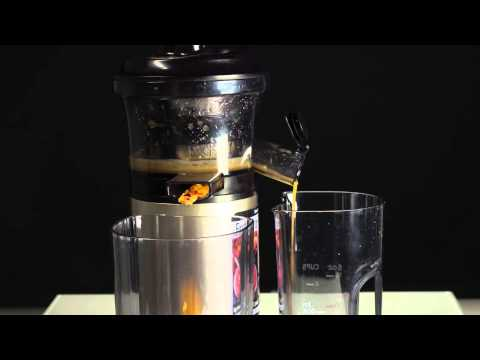 Panasonic Slow Juicer Test : Panasonic Slow Juicer - YouTube