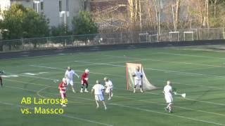 Acton Boxborough Varsity Lacrosse vs Massco Apr 2012
