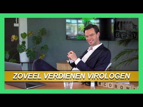 Zoveel verdienen virologen | Klikbeet