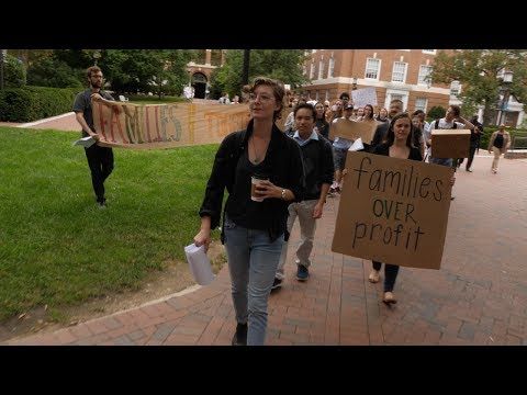 Protest Targets Johns Hopkins Multi-Million Dollar Contract with ICE