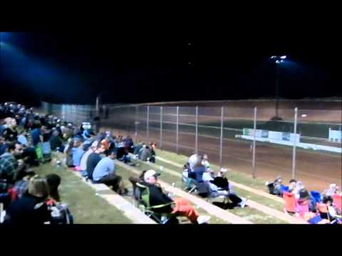 Bomber Feature Race at Deep South Speedway 4-6-2013