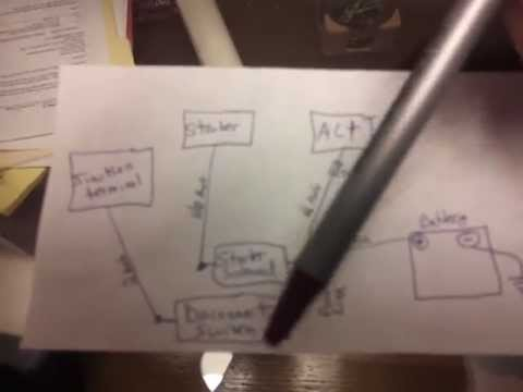 Trunk mount battery how to DIY schematic relocation on
