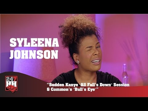 Syleena Johnson  Sudden Kanye All Falls Down Session & Commons Bulls Eye 247HH Exclusive