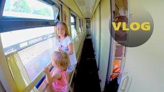 ВЛОГ: Поезд Санкт-Петербург - Анапа, купе,  два дня с детьми? Как это было?)(детский канал https://www.youtube.com/channel/UCRx2dNJTQ64ZBSLM5P7jgcQ/videos СОТРУДНИЧЕСТВО morskayutub@yandex.ru Всем привет!, 2016-06-25T07:24:12.000Z)