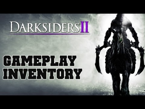 Darksiders 2 INVENTORY Official Gameplay