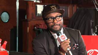 Will I Am on Miley Cyrus Wrecking Ball AMAs 2013