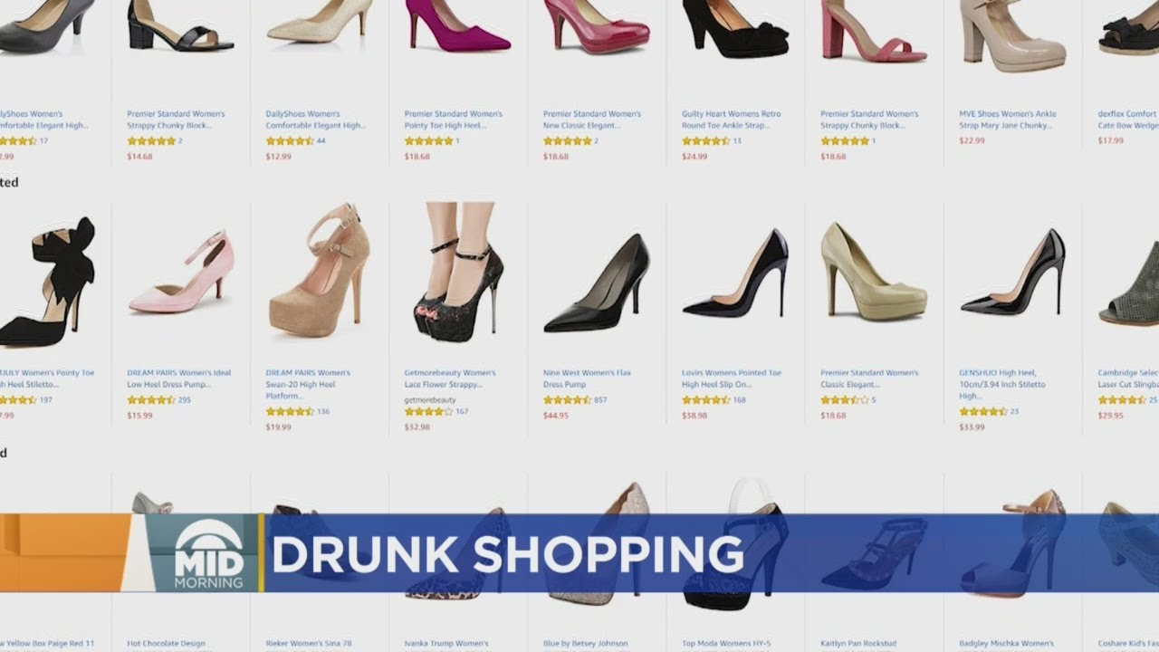Millions Have Shopped While Drunk, Survey Finds