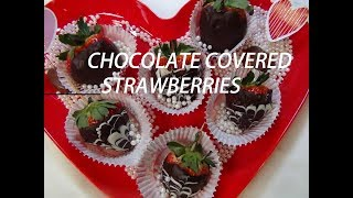 Chocolate Covered Strawberries perfect Valentine Gift Episode  #60