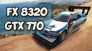AMD FX 8320 + GTX 770: Dirt Rally ULTRA SETTINGS (УЛЬТРА ВЫСОКИЕ НАСТРОЙКИ)