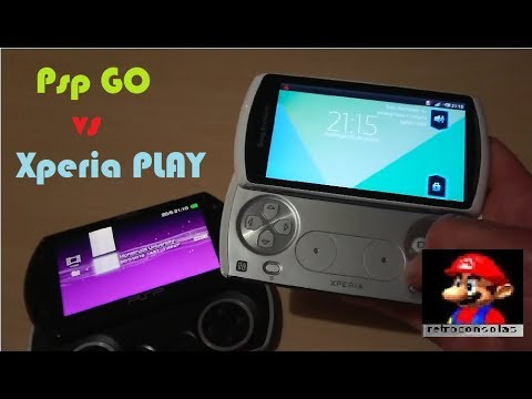 Sony Xperia Play VS PSP GO 2018 !!!!