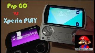 Sony Xperia Play VS PSP GO 2018 !!!!