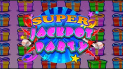 Live Play On Super Jackpot Party Slot Machine