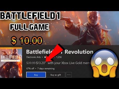 FULL GAME + SEASON PASS FOR ONLY 10 DOLLARS | BATTLEFIELD 1 REVOLUTION