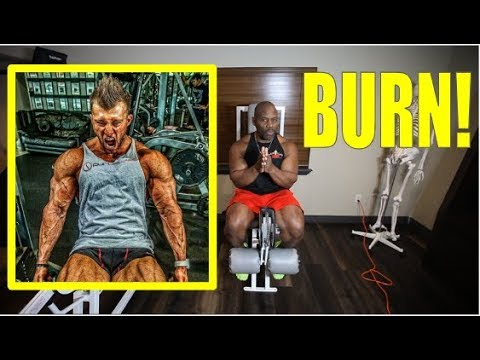Should you PUSH THROUGH THE PAIN?  (muscle burn vs. burn out)