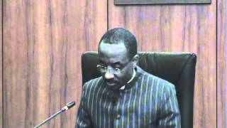 MPC Briefing No. 92 on November 19, 2013 by Governor, CBN, Mallam Sanusi Lamido Sanusi
