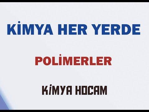 POLİMERLER| KİMYA HER YERDE |YAYGIN GÜNLÜK HAYAT KİMYASALLARI|TYT| KİMYA HOCAM