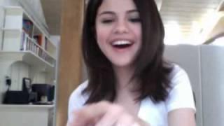 Selena Gomez Live Webcast Feb 23, 2010 Part 1 of 6