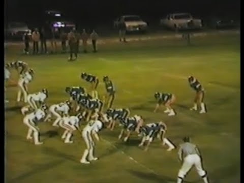 1981 Fullington Academy Trojans at Baker Academy Bruins (football)