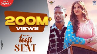 Kaka : Teeji Seat (Official Video) Aakansha | New Punjabi Songs 2021-Latest Punjabi Songs 2020 2021