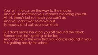8. Never Grow Up Taylor Swift Lyrics